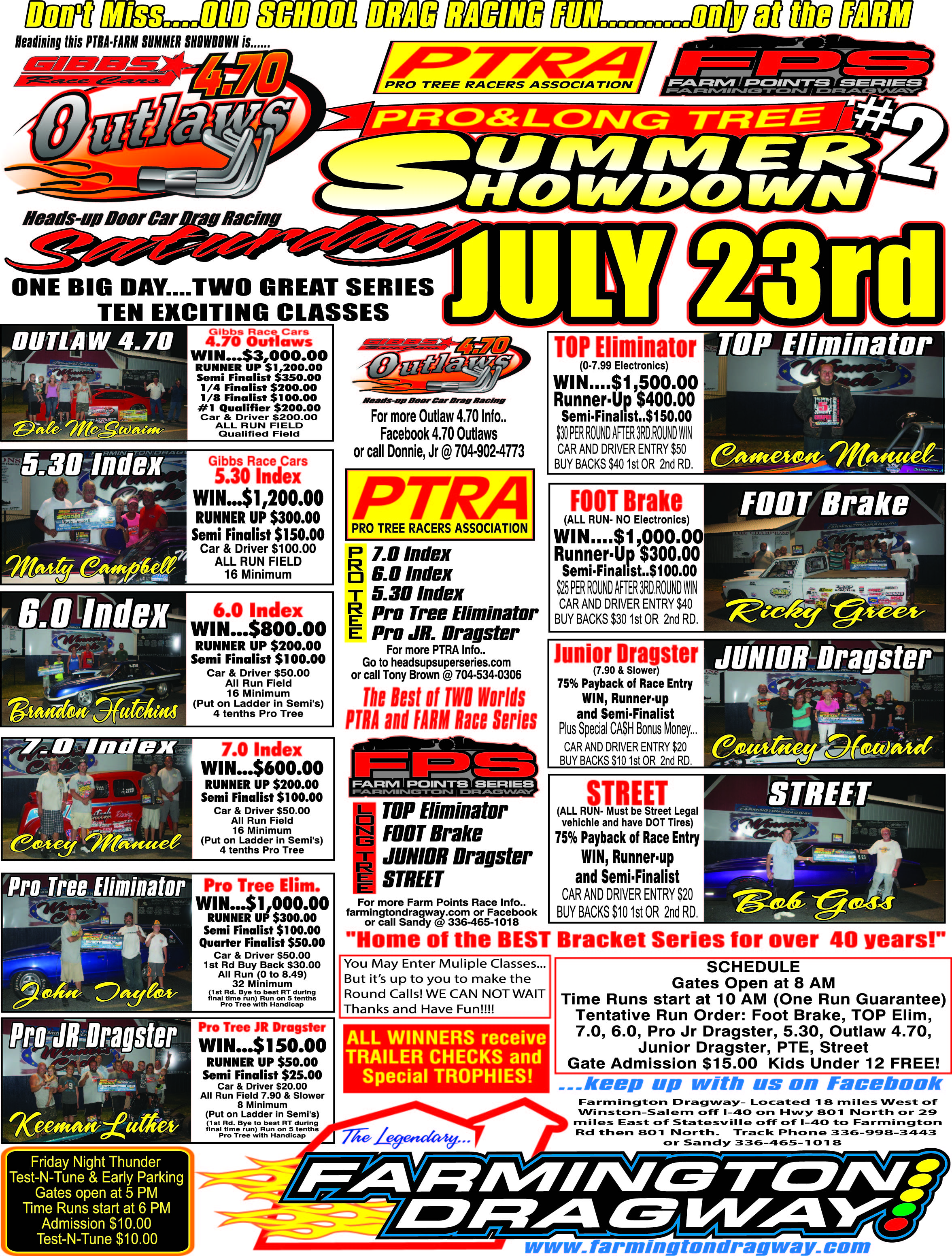 2016 July 23rd event flyer